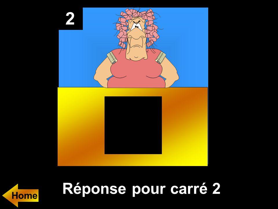 2 Réponse pour carré 2