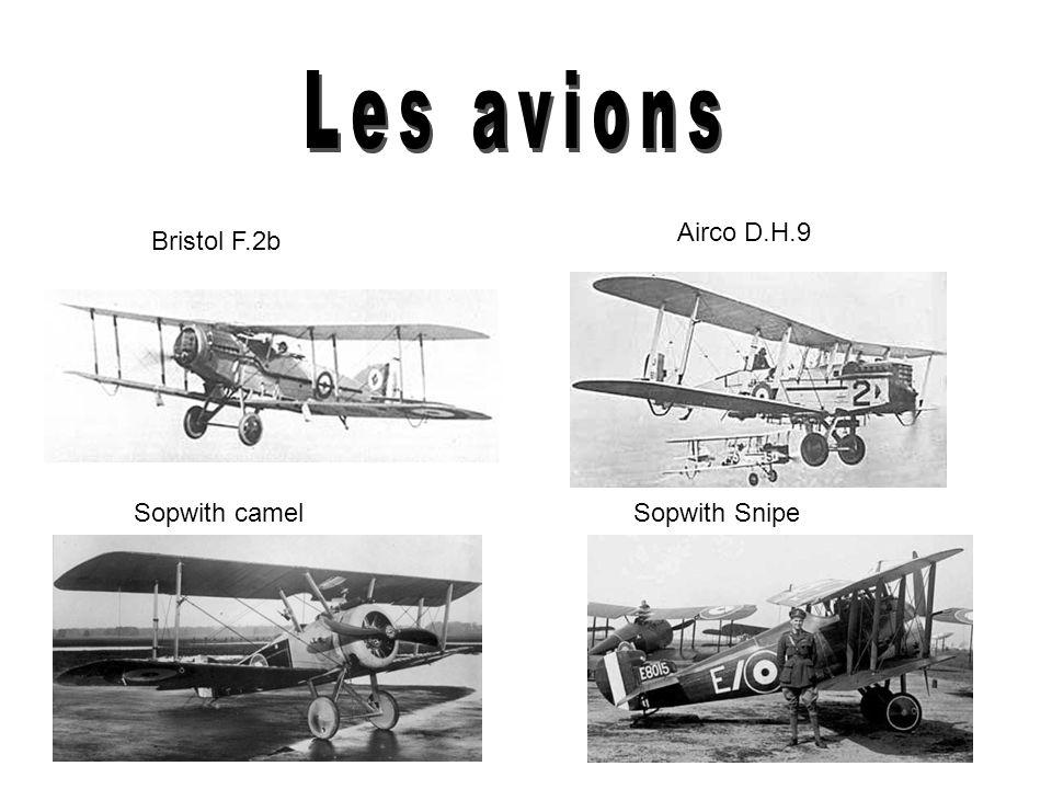 La première avion canadien Le militaire ne pensait pas quune avion serait utile