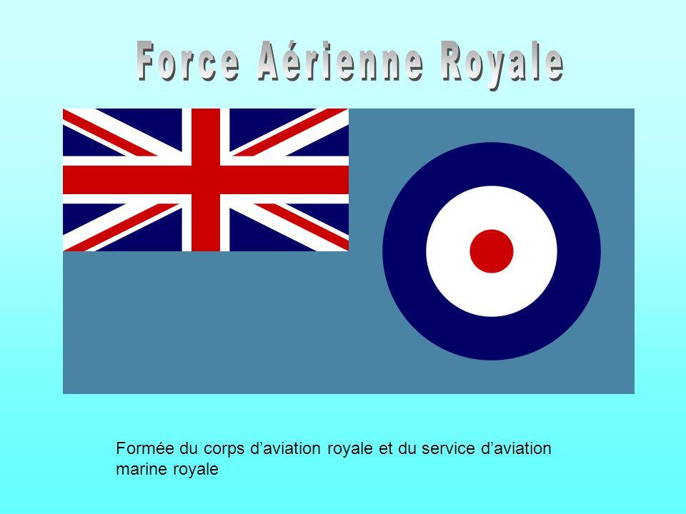 Formée du corps daviation royale et du service daviation marine royale