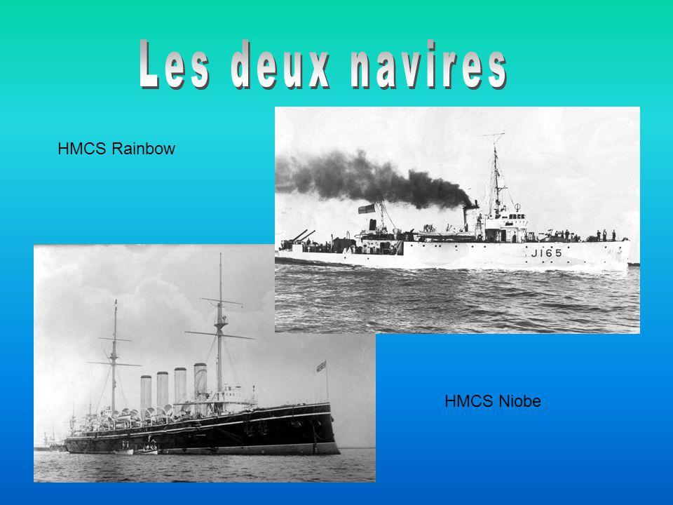 HMCS Rainbow HMCS Niobe