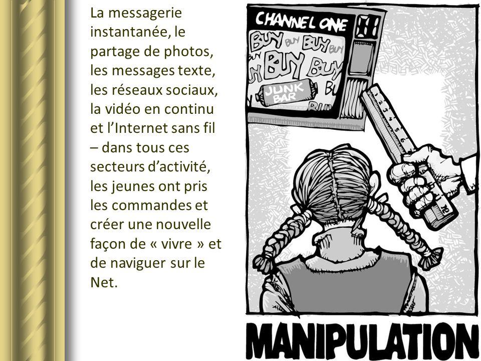 La messagerie instantanée, le partage de photos, les messages texte, les réseaux sociaux, la vidéo en continu et lInternet sans fil – dans tous ces se