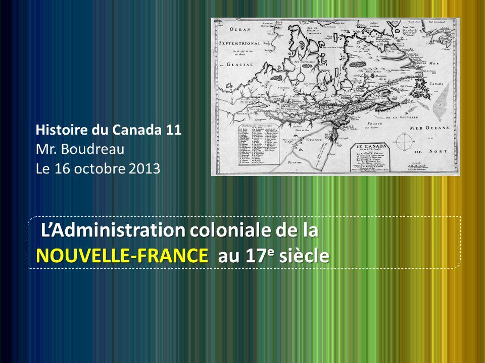 Histoire du Canada 11 Mr.
