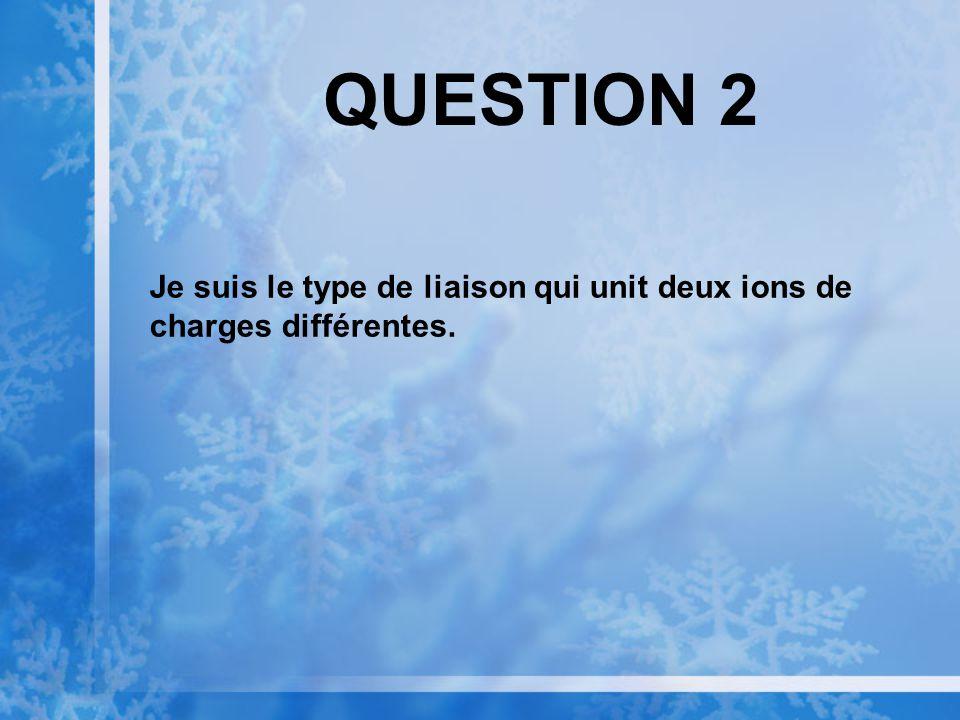 QUESTION 1 Je suis une molécule qui contient une base azotée, mais je ne suis pas un nucléotide.