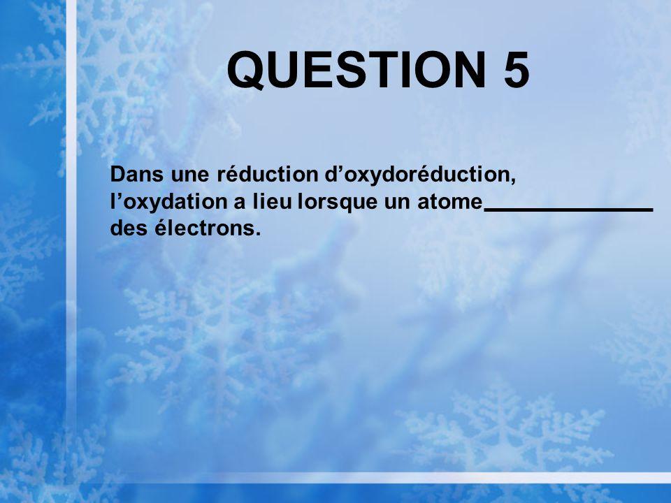 QUESTION 4 Les disaccharides et polysaccharides se forment par des réactions de
