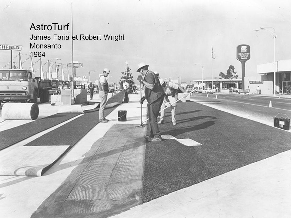 AstroTurf James Faria et Robert Wright Monsanto 1964