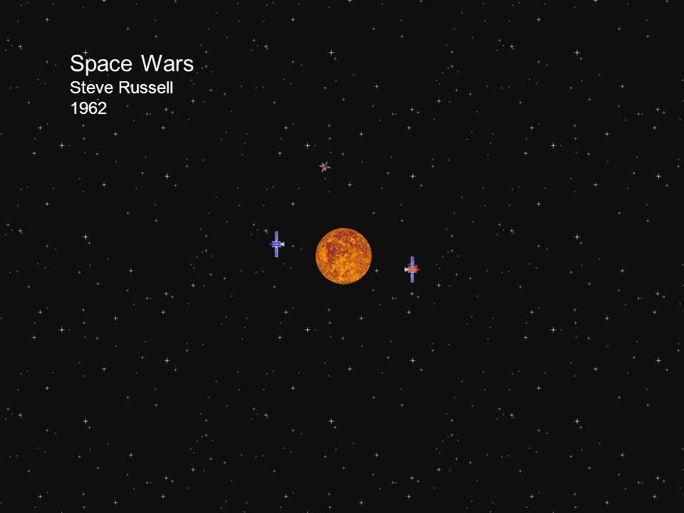 Space Wars Steve Russell 1962