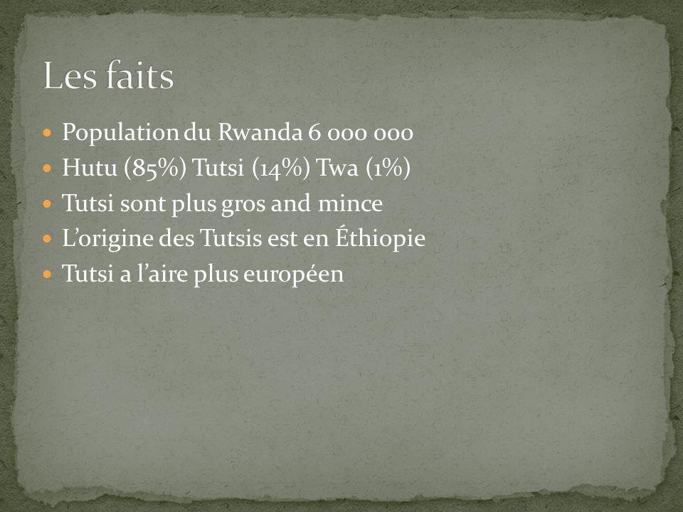 Plusieurs des Tutsi ont été torturés avant d être tués les tutsi ont été appelés blattes