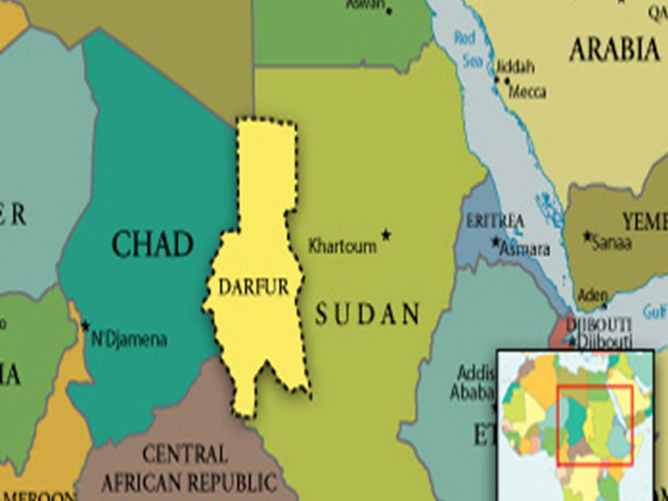 Une idée générale (informations de fond) -Au début de 2003, les groupes non-arabes des tribus du Darfour sont devenus les cibles d un génocide horrible.