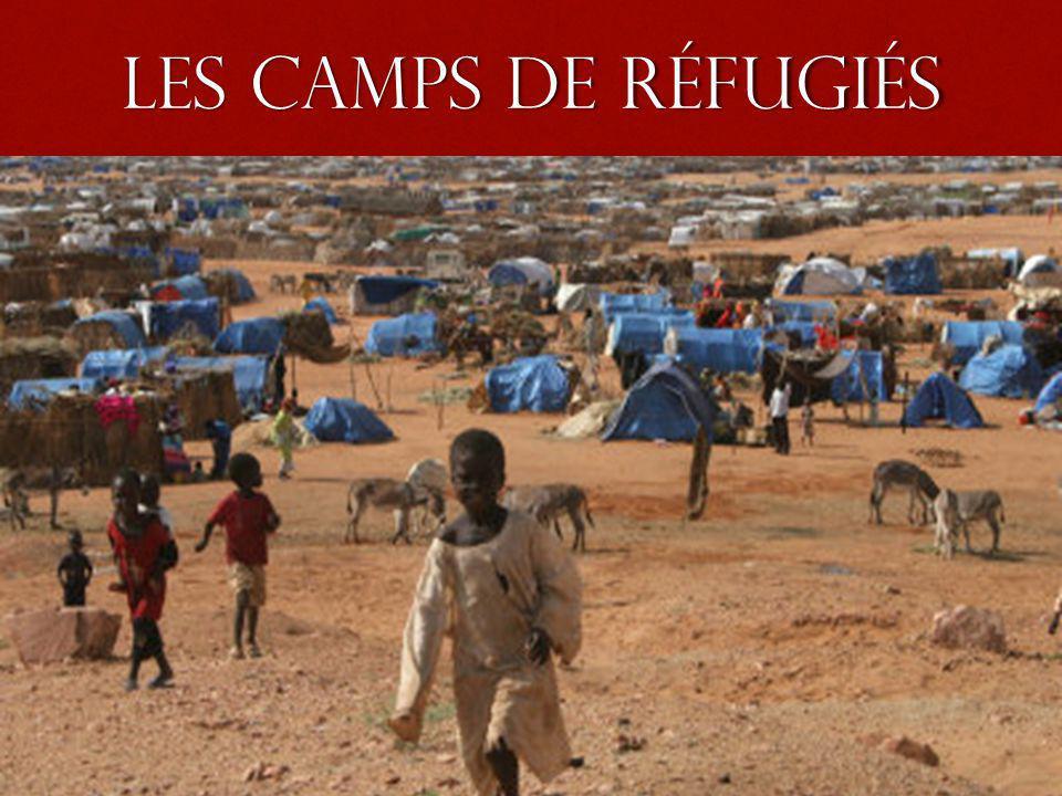 les camps de réfugiés