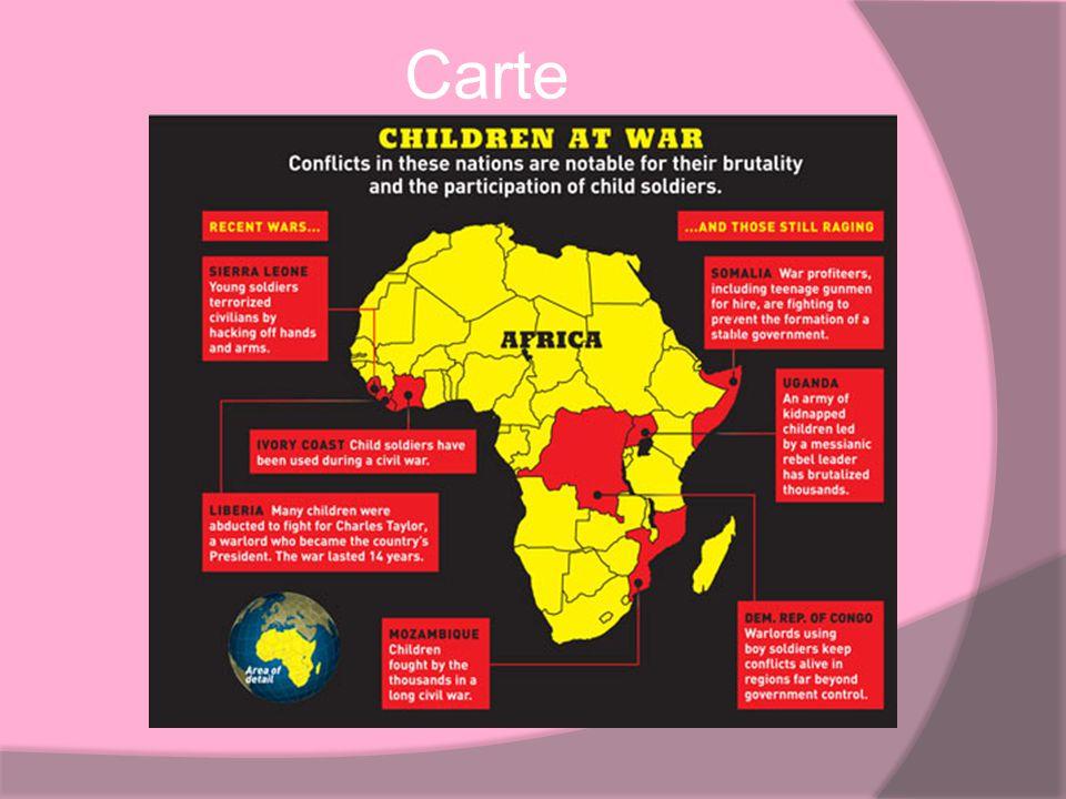 Autre pays Burundi, plus que cent enfants en lage de 10-16 sont recrute par la Burundese militaire.