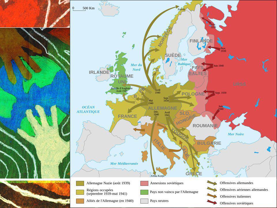 Allemagne a envahi la Pologne le 1er septembre 1939 Grande-Bretagne et la France ont déclaré la guerre à lAllemagne deux jours plus tard.