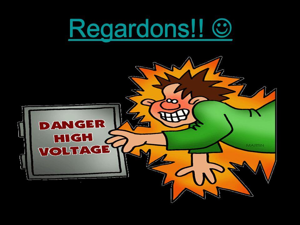 Danger!! Surtension!! Le générateur van de Graff peut créer une charge de 50 000 volts! Cette charge est assez forte pour créer des décharges électriq
