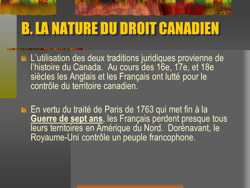 En 1774, le parlement britannique adopte lActe de Québec.