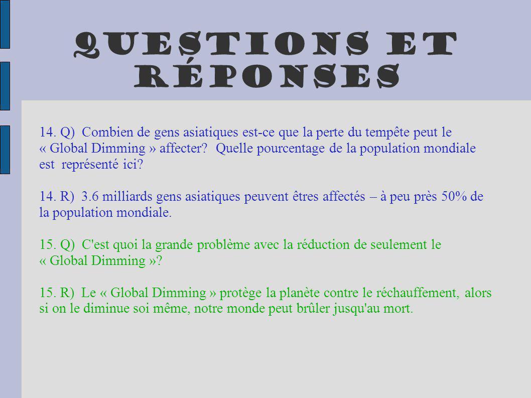 Questions et réponses 16.