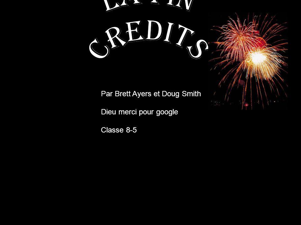 Par Brett Ayers et Doug Smith Dieu merci pour google Classe 8-5