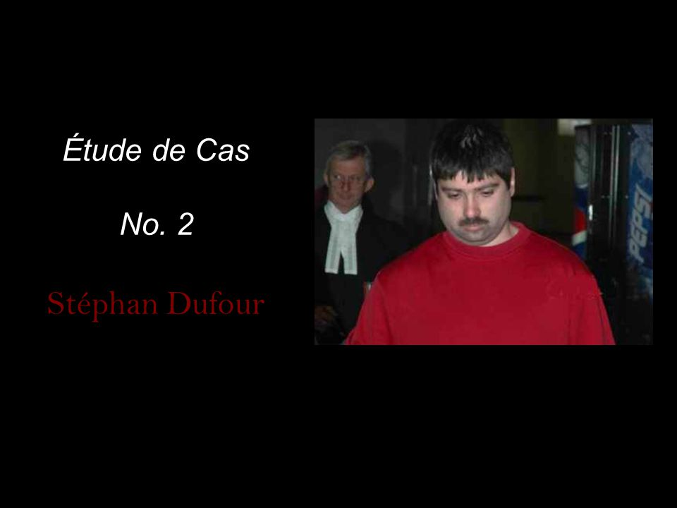 En 2006, Stéphan Dufour a aidé son oncle (Chantal Maltais) de se suicider.