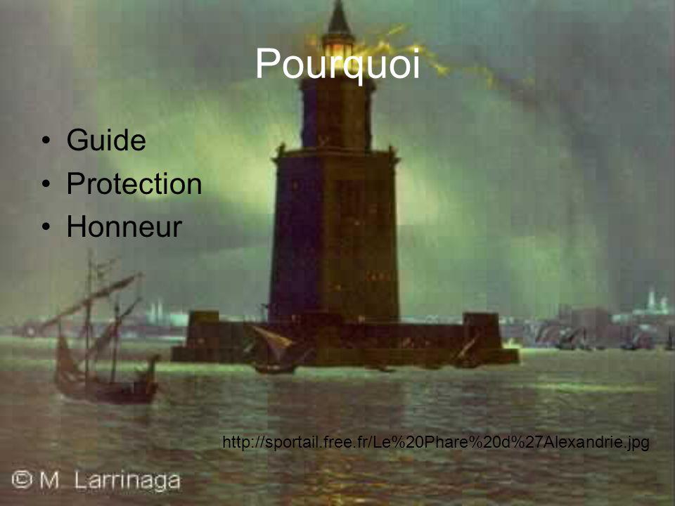 Pourquoi Guide Protection Honneur http://sportail.free.fr/Le%20Phare%20d%27Alexandrie.jpg