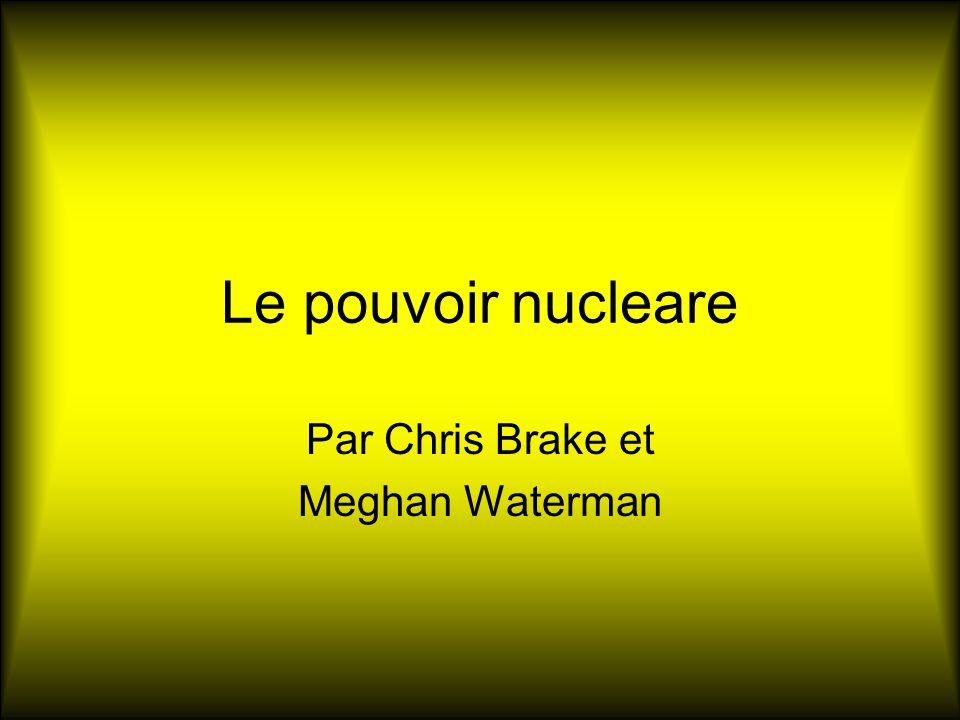 Comment ca fonction Reaction de fission Produit chaleur Transforme en vapeur Donne electricite http://focuswest.org/asxgenfw.cfm?showfile=focuswest/energy/id_nuclear.wmv