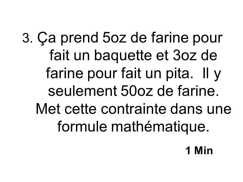 2. Réarrange en forme y=mx+b? y=-3x+12