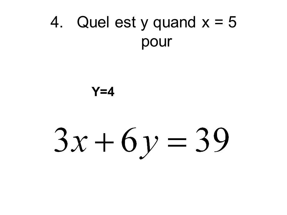 3. Met en forme x + y = C avec rien de fractions C = un constant -6x+7y=21