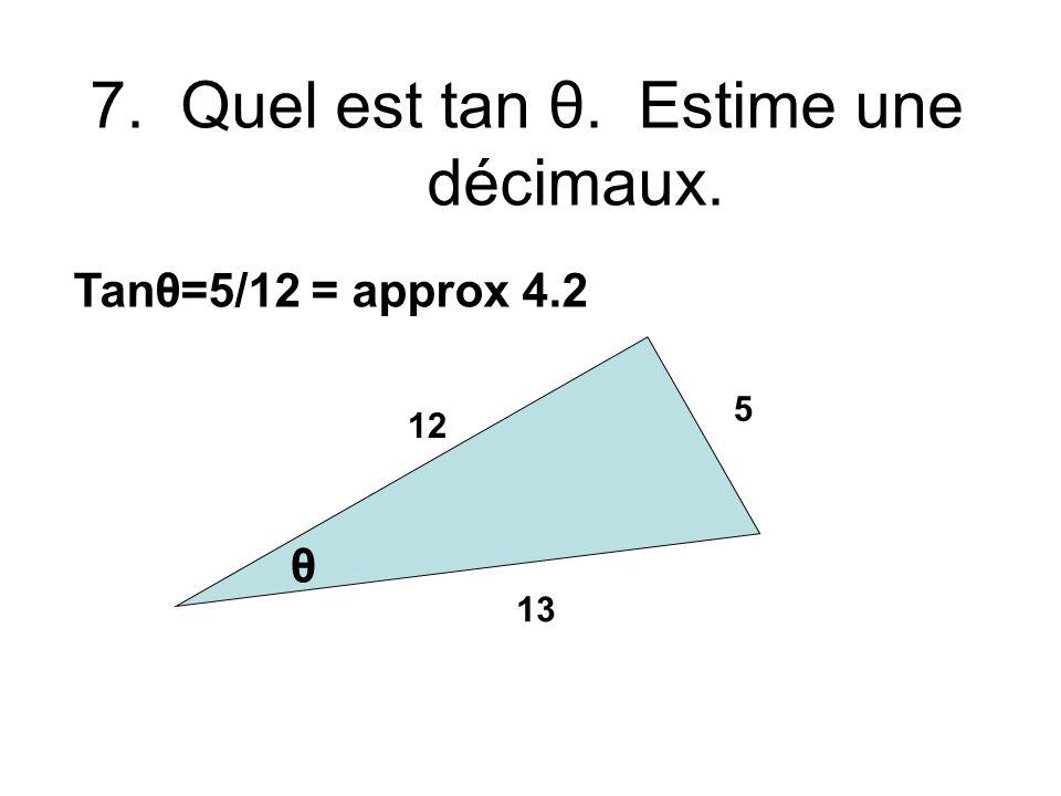 6.Quel est x quand y = 9 pour X=8