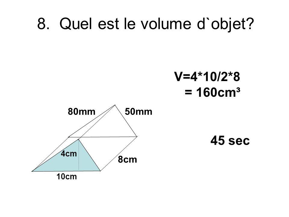 7. Quel est tan θ. Estime une décimaux. θ 13 12 5 Tanθ=5/12 = approx 4.2