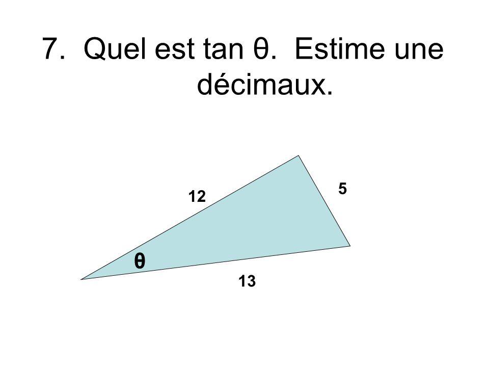 6.Quel est x quand y = 9 pour