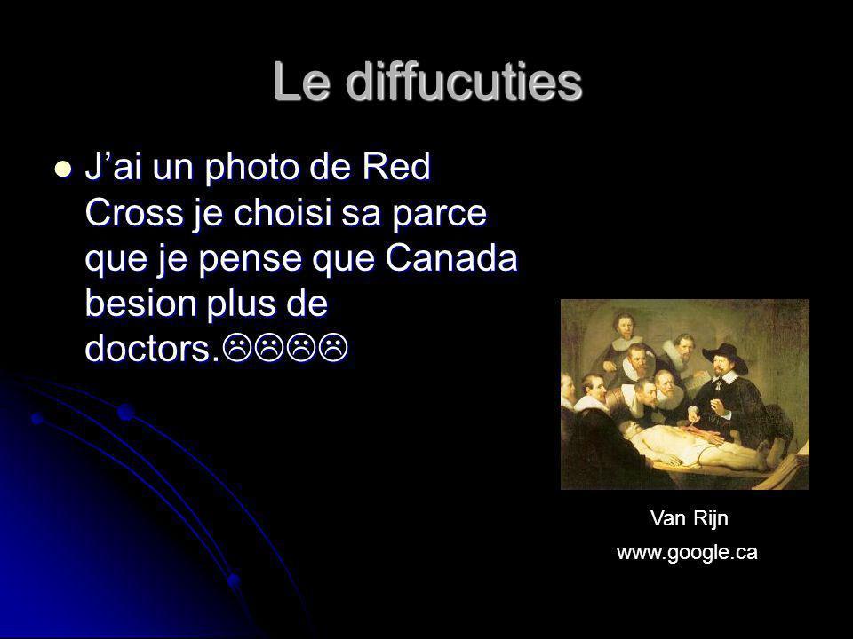 Les opportunities Jai un photo de la militare car quand tu alle au canada, tu peu combattre avec la canadien forces!!.