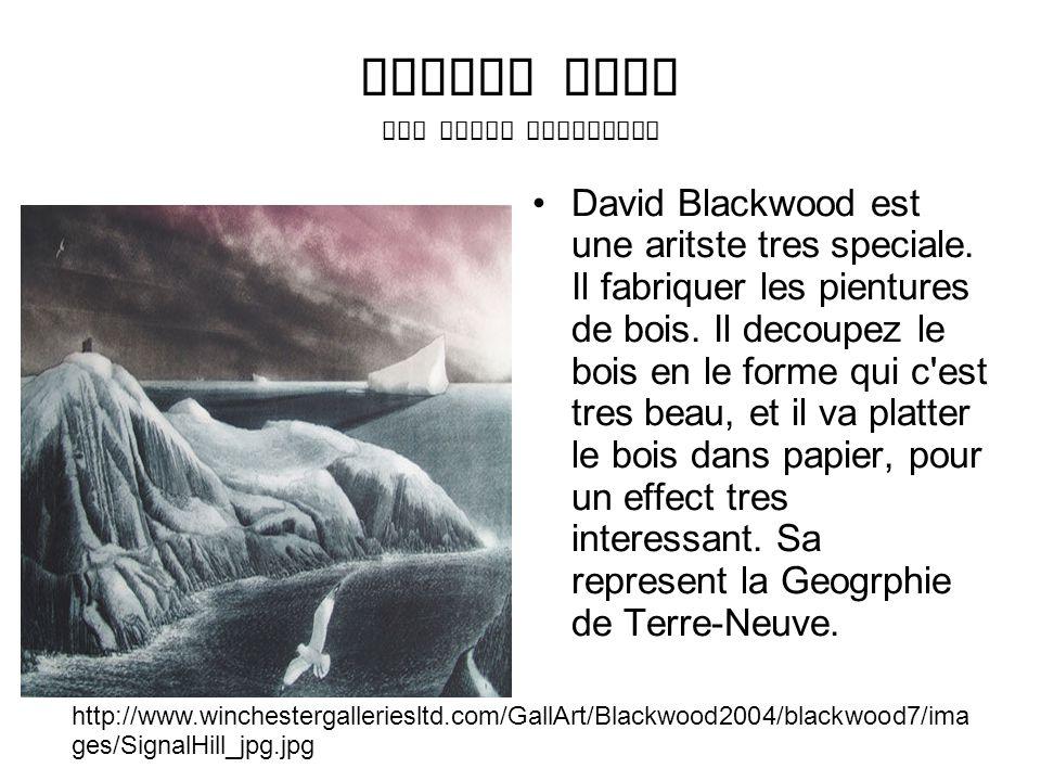 Signal Hill Par David Blackwood David Blackwood est une aritste tres speciale.