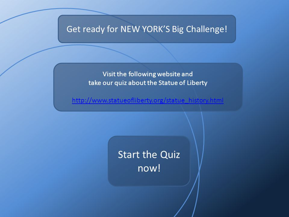 Get ready for NEW YORKS Big Challenge.