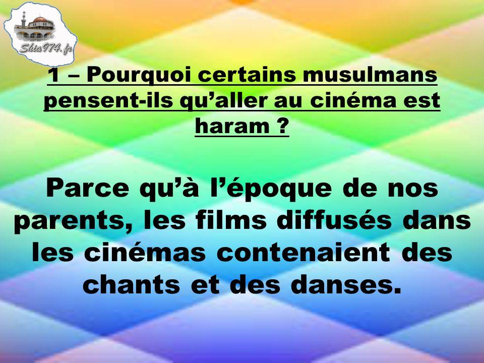 Parce quà lépoque de nos parents, les films diffusés dans les cinémas contenaient des chants et des danses.