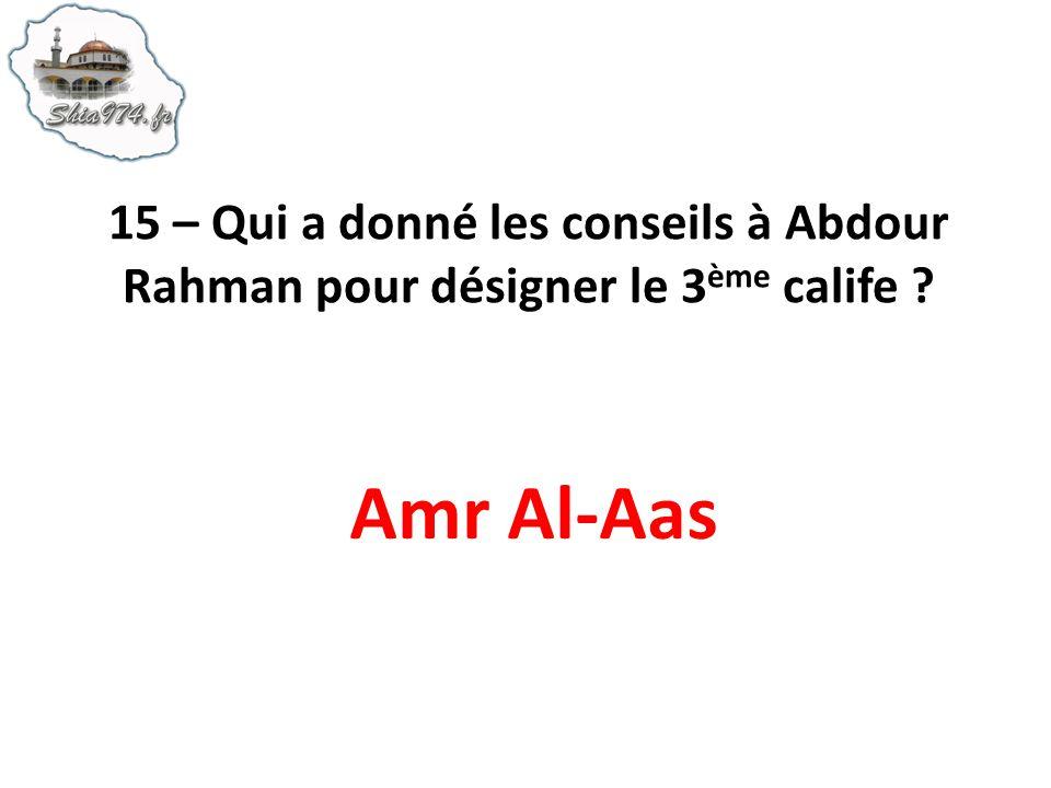 Amr Al-Aas