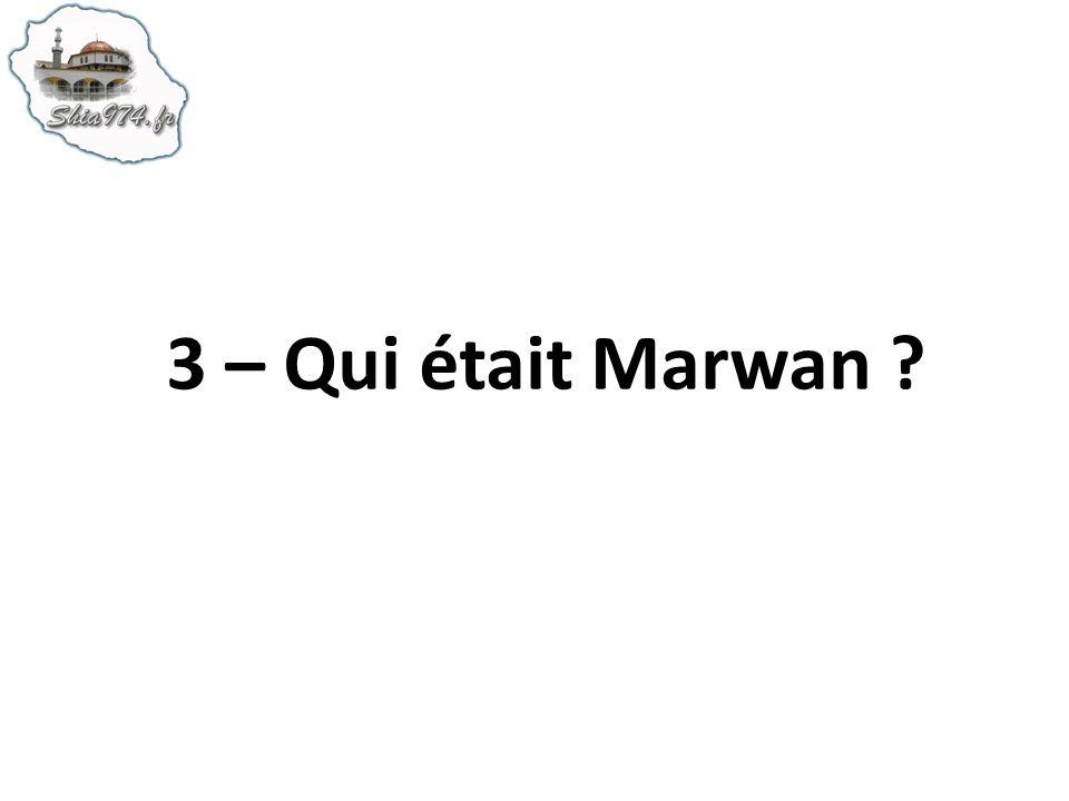 3 – Qui était Marwan ?