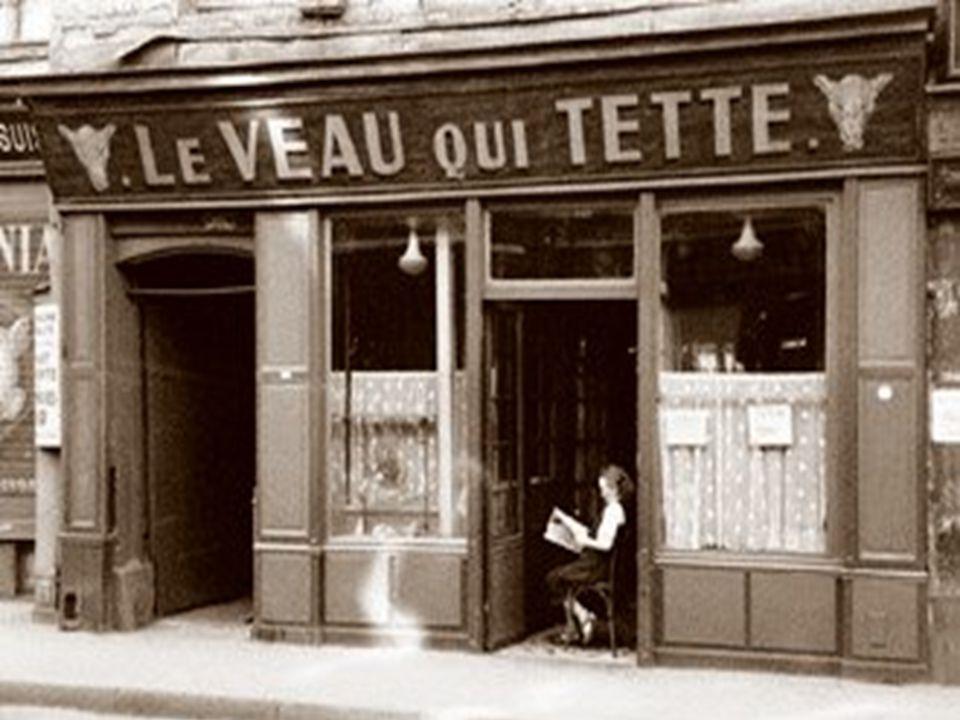 Vendeur dabat jour, rue Lepic