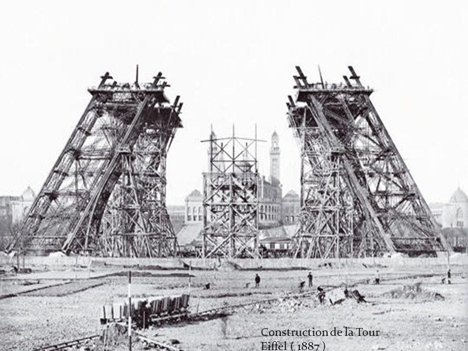 Travaux dans paris en 1860. Pont suspendu Louis Philippe