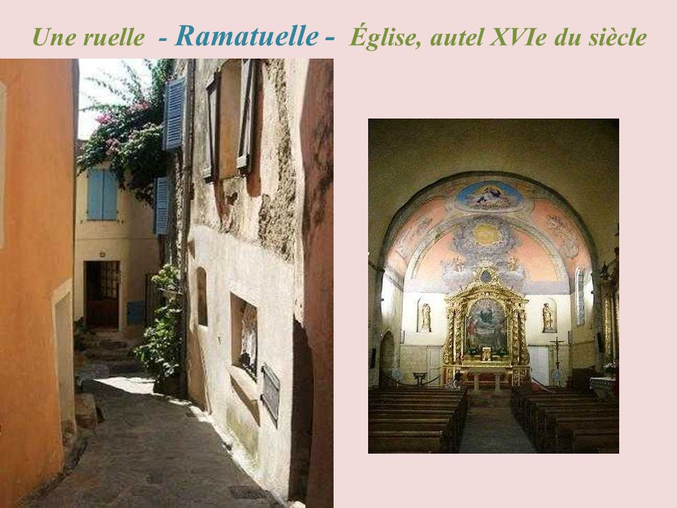 Saint - Raphaël lîle dOr, la tour Sarrasine