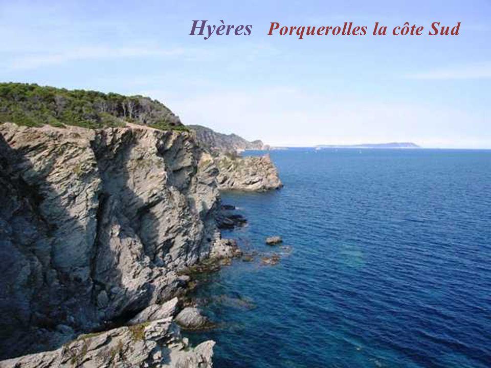 Hyères Porquerolles la côte Sud