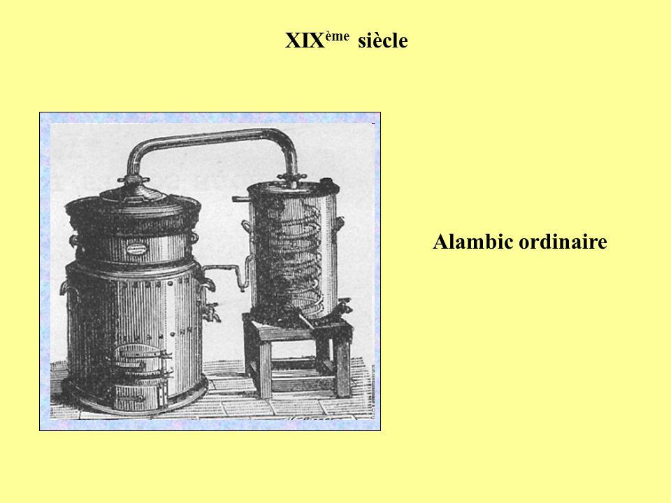 XIX ème siècle Alambic ordinaire