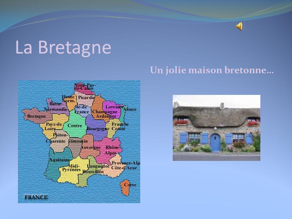 La Normandie Les régions de France. Voici une belle maison normande!