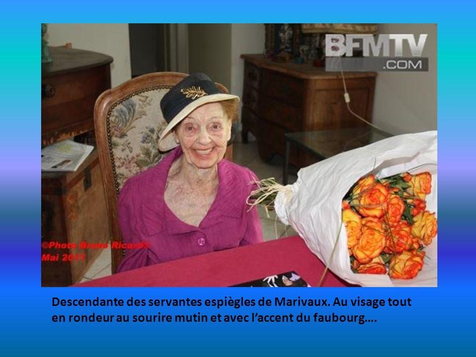 Cette comédienne née à Paris en Octobre 1910 est décédée. Reine des soubrettes du cinéma Français. Elle na pas quitté pendant un demi-siècle de carriè