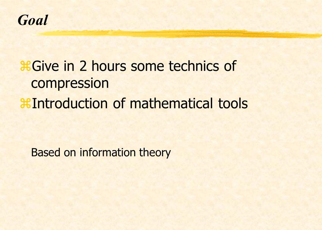 Plan I) Introduction II) Tools III) Lossless compression (redundancy) IV) Lossy compression scalar quatization vector quatization V) Norms