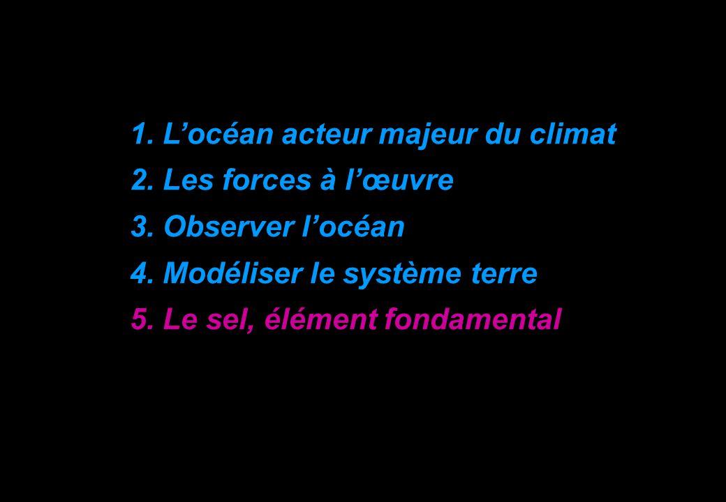 1.Locéan acteur majeur du climat 2. Les forces à lœuvre 3.