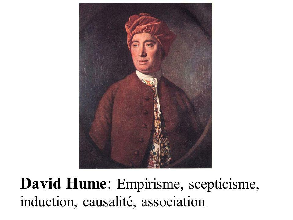 David Hume: Empirisme, scepticisme, induction, causalité, association