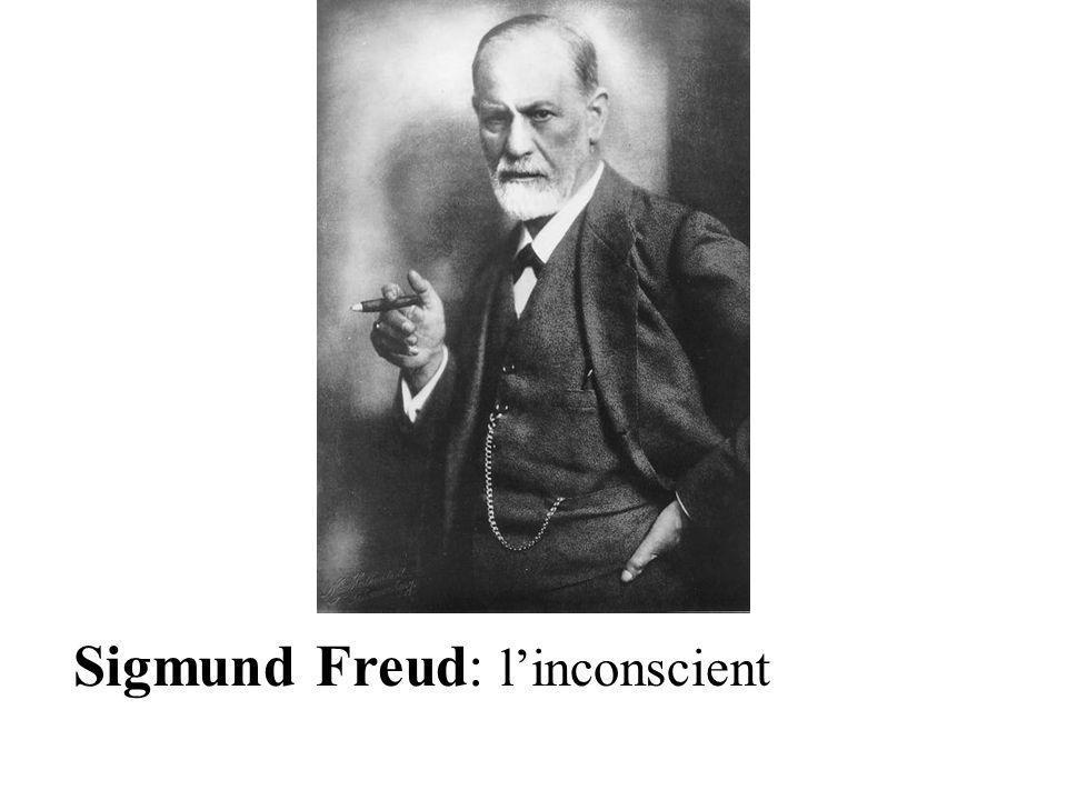 Sigmund Freud: linconscient