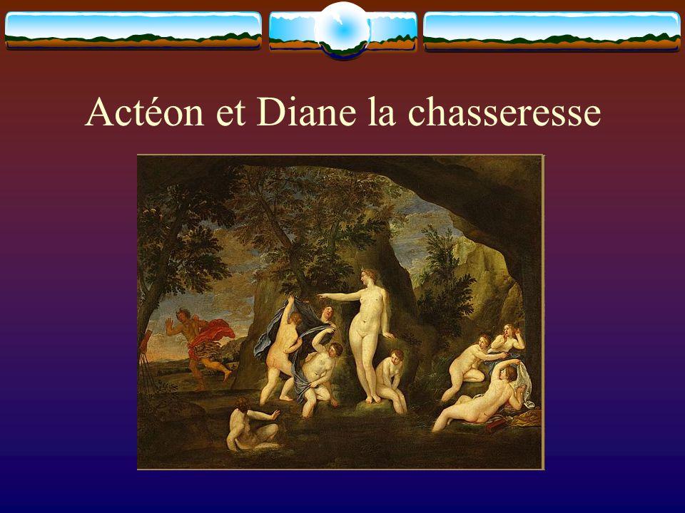 Actéon et Diane la chasseresse