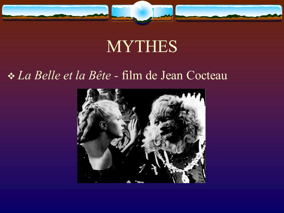 MYTHES La Belle et la Bête - film de Jean Cocteau