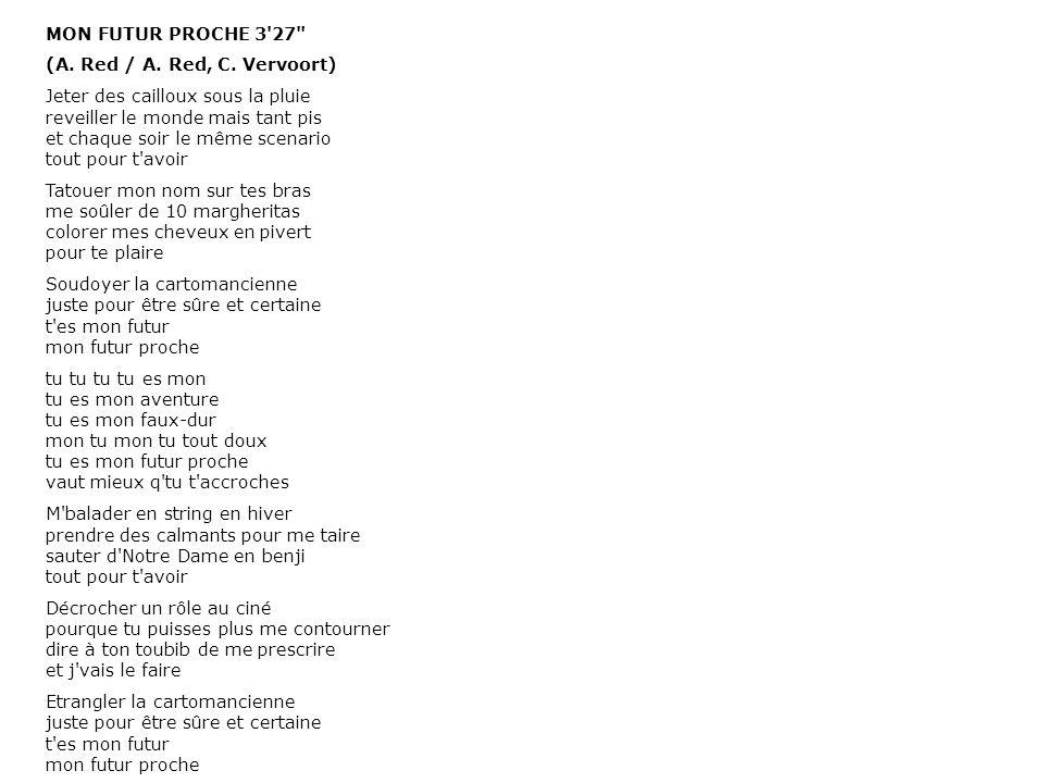 MON FUTUR PROCHE 3'27