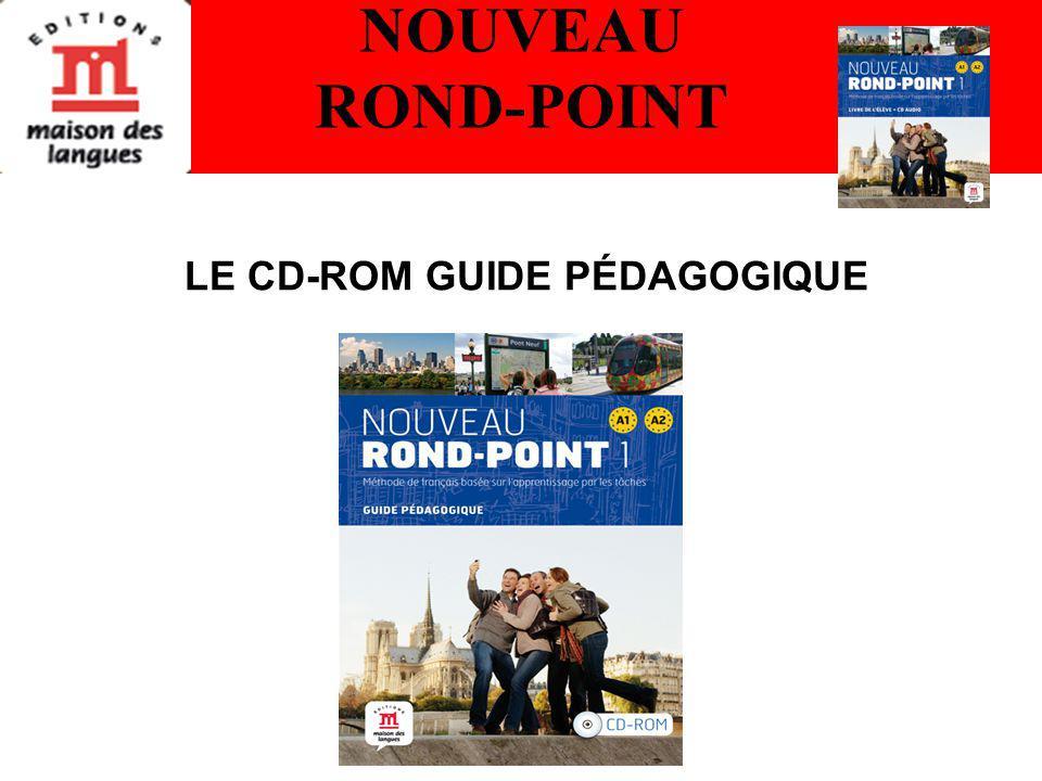 NOUVEAU ROND-POINT LE CD-ROM GUIDE PÉDAGOGIQUE