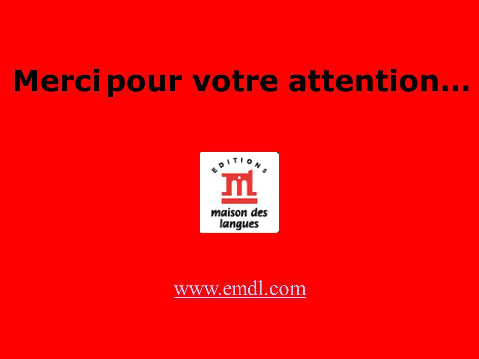 Merci pour votre attention… www.emdl.com