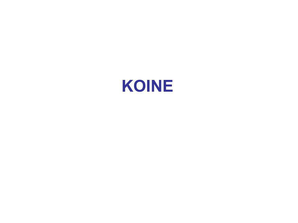 KOINE